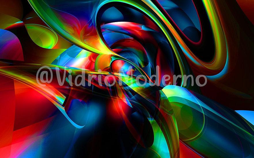 Abstracto multicolor