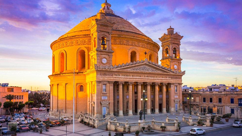 La Rotunda de Mosta. Malta