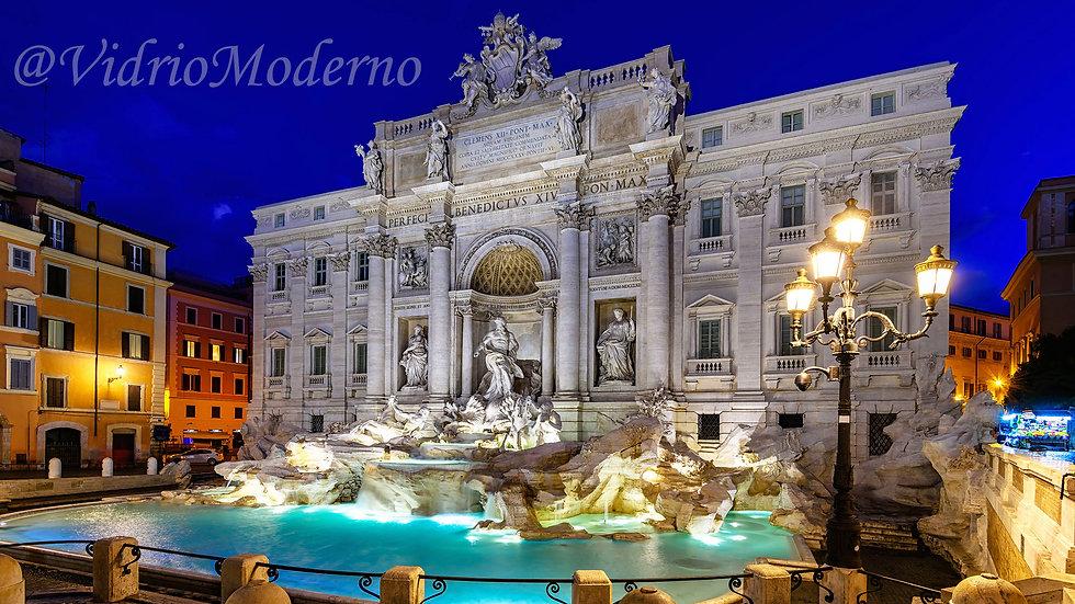 Fontana di Trevi. Roma