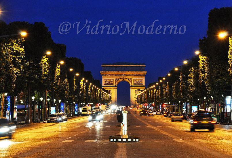 Vía Arco del Triunfo. París