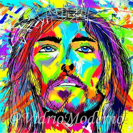 Cristo de colores