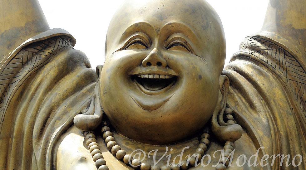 Buddha sonriente
