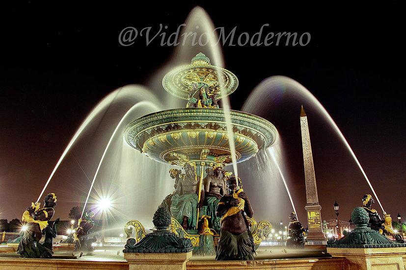 Fontaine des Fleuves. París