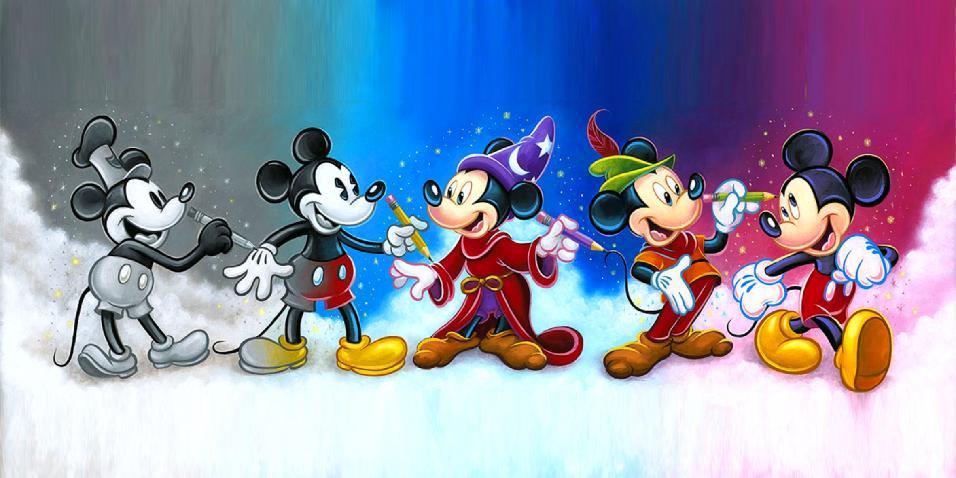 Mickey evolución