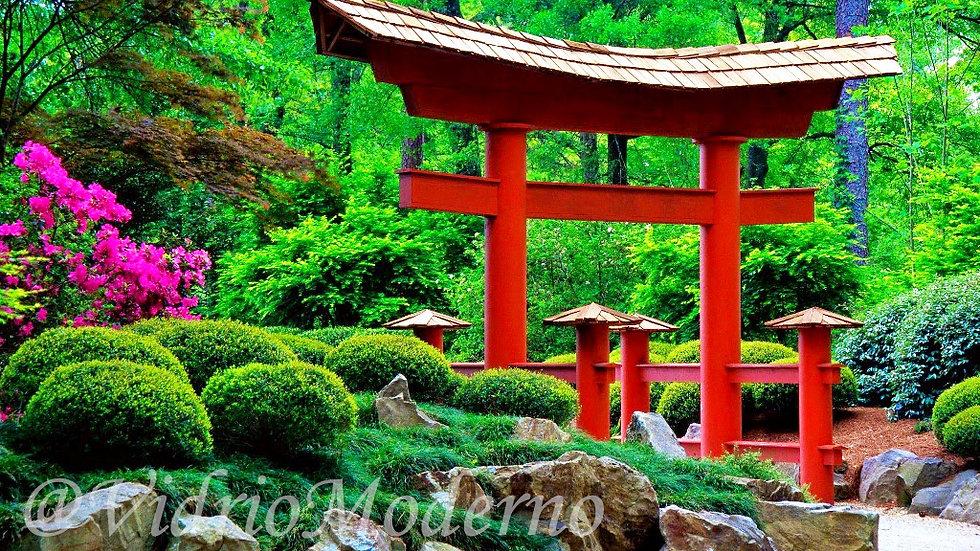 Shinto-gate. Japón