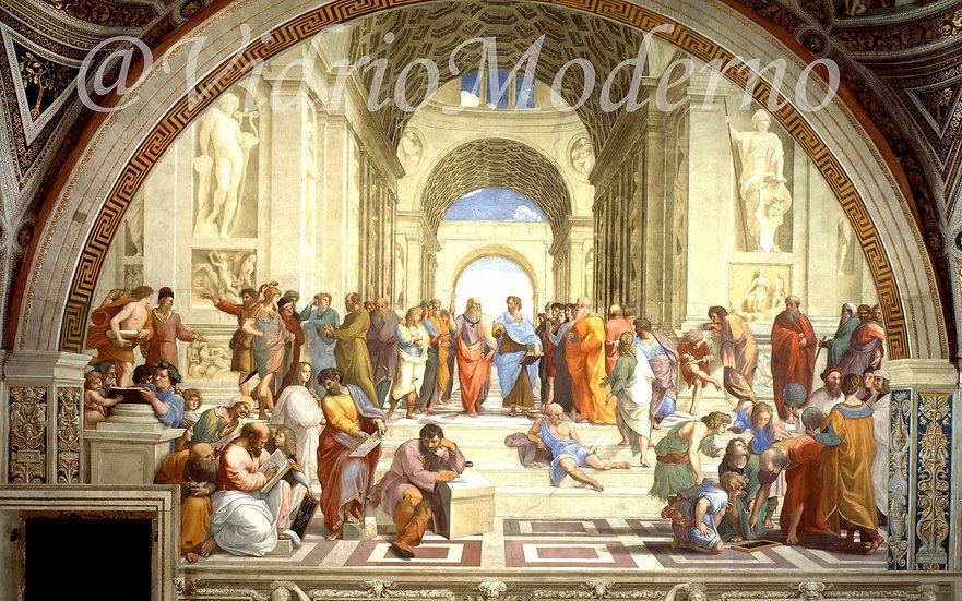 Escuela de Atenas Rafael. Roma