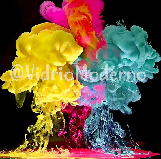 Colores en agua