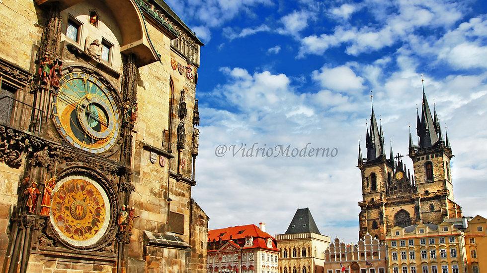 Plaza de la Ciudad vieja de Praga. República Checa