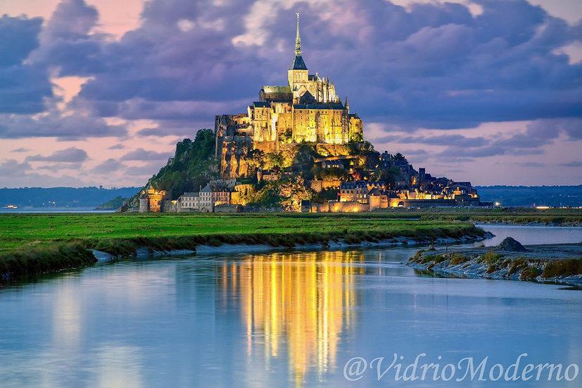 Monte Saint-Michel. Francia