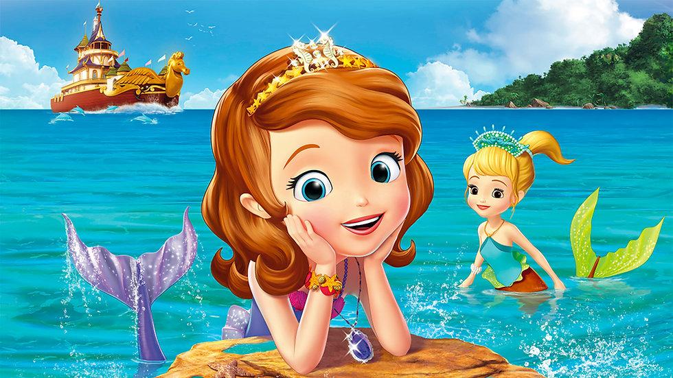 Princesa Sofía sirena