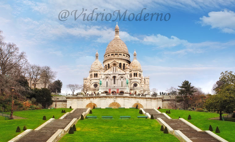 Basílica del Sagrado Corazón de Montmartre. Francia