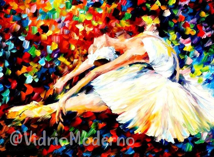 Bailarina a color