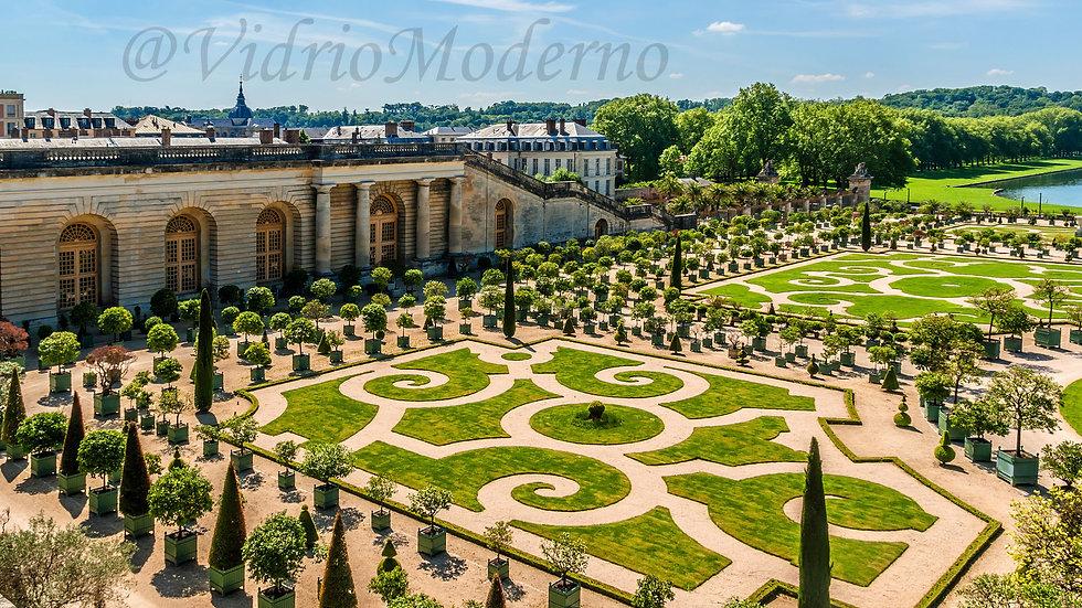 Jardines y palacio de versalles. París