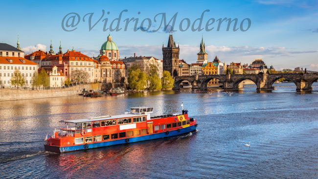 Río Moldava. Praga
