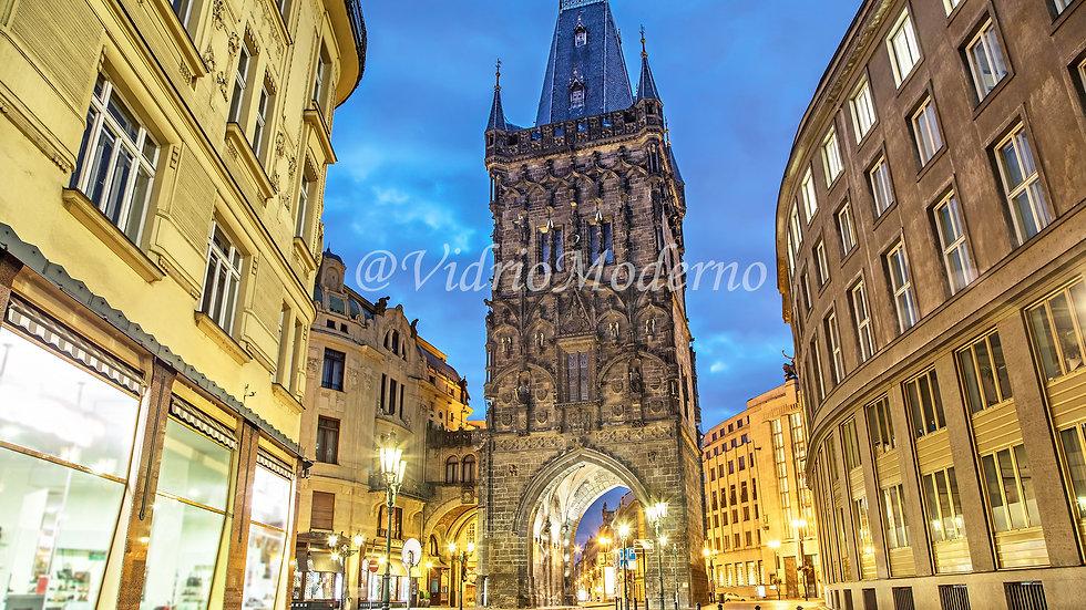 Torre de la polvora. Praga