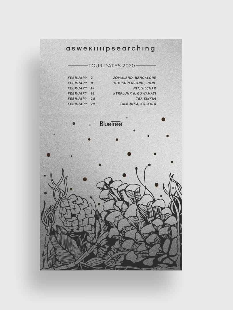 Aswekeepsearching Tour Poster