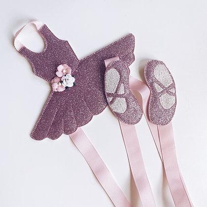 Ballet bow holder