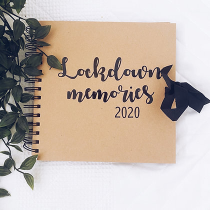 Lockdown memories scrapbook