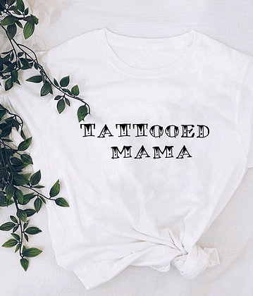 Tattooed mama tee