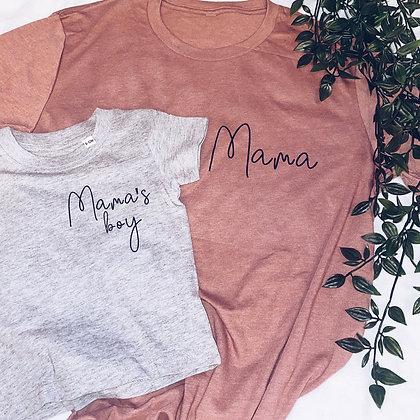 Mama and mamas boy
