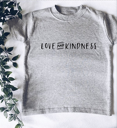 Love and kindness tee