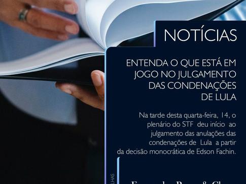 Lula - Anulações - Entenda