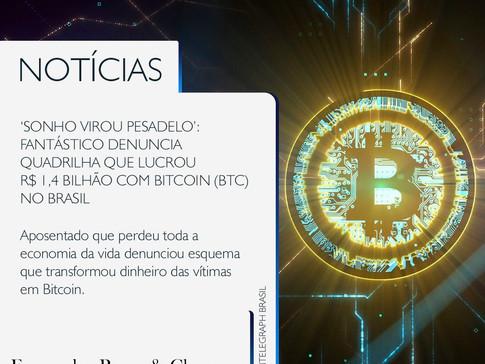 Crime financeiro - Golpe do investimento - BitCoin