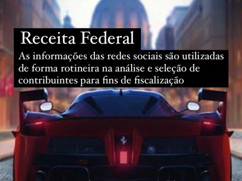 Receita Federal analisa as informações de redes sociais