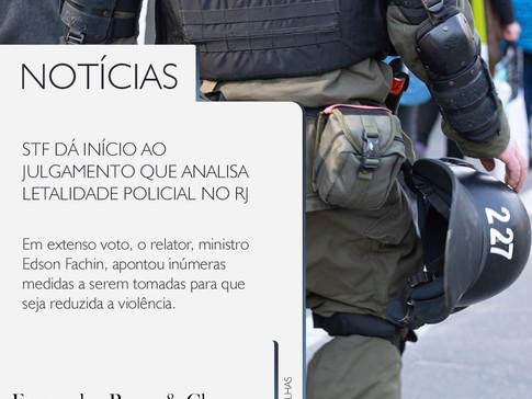 STF: Letalidade Policial