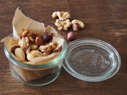 Ořechy pro mlsné veverky
