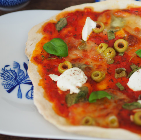 Křupavá domácí pizza