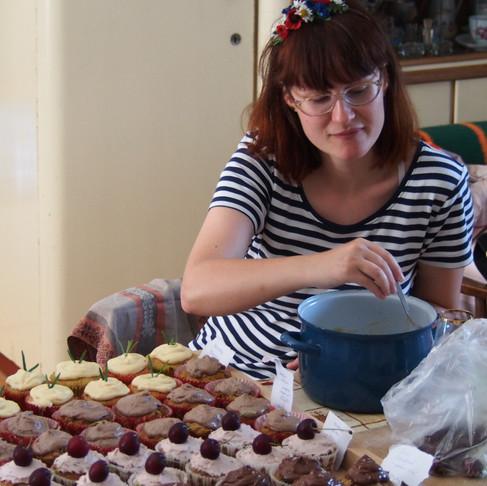 Veselkové dortíky