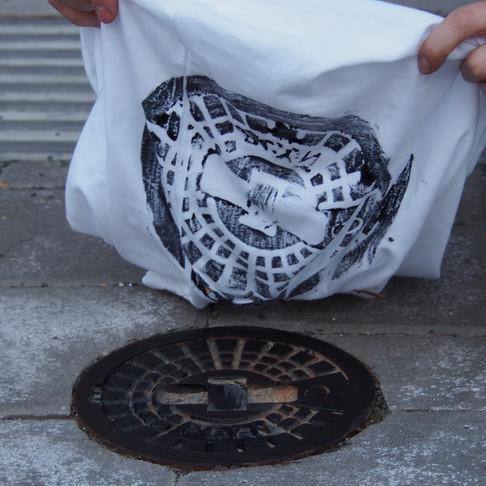 Street tisk na tričko