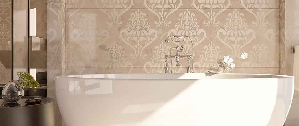 salle de bain mosaïque
