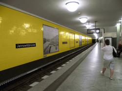 Rame de métro à Berlin