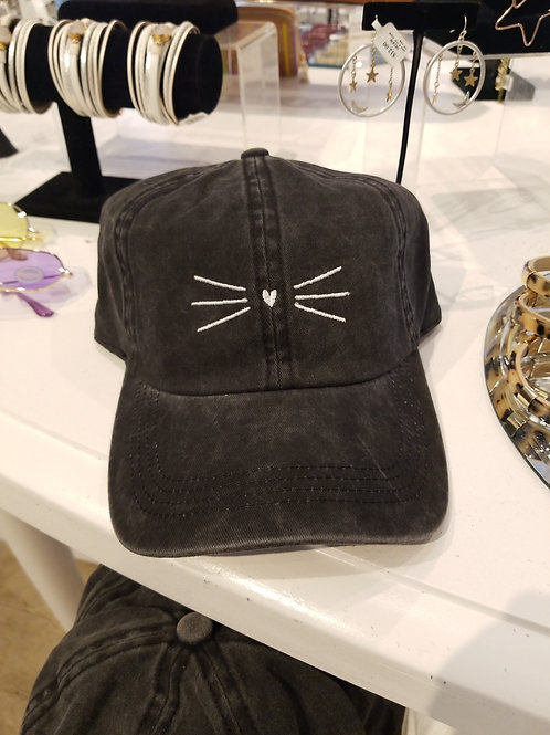 Kitty Whiskers Cap