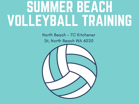 Summer Beach Volleyball Training