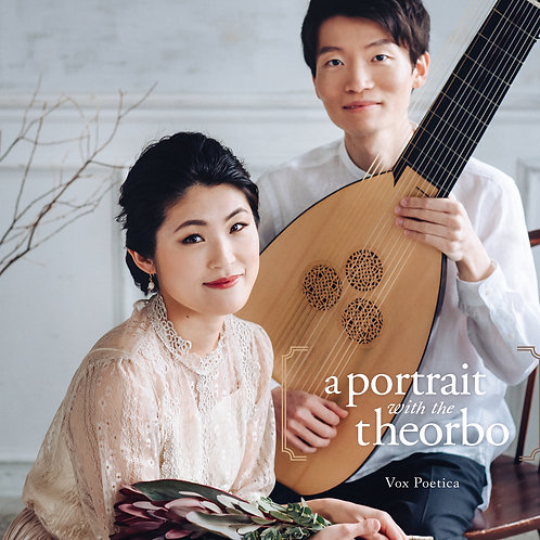 【CD】『テオルボと描く肖像 a portrait with the theorbo』