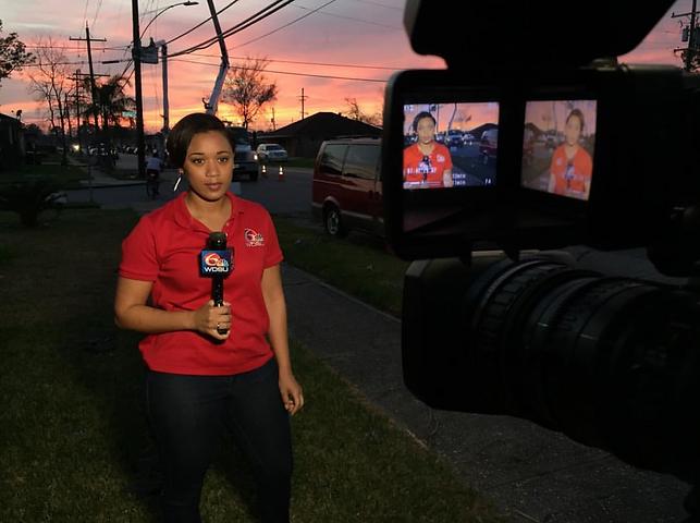 Casey Ferrand reporting live