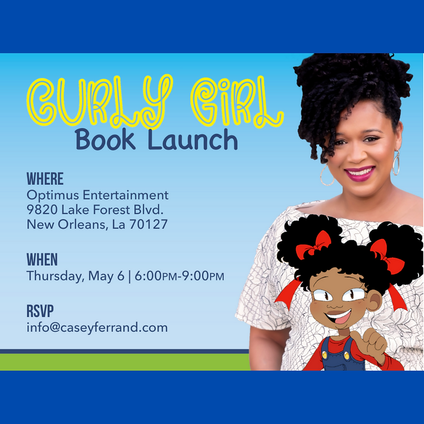 CURLY GIRL Book Launch