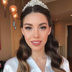 Miss gelinim ecenaz 🤗🌸🌺👰🏻 makeup _e
