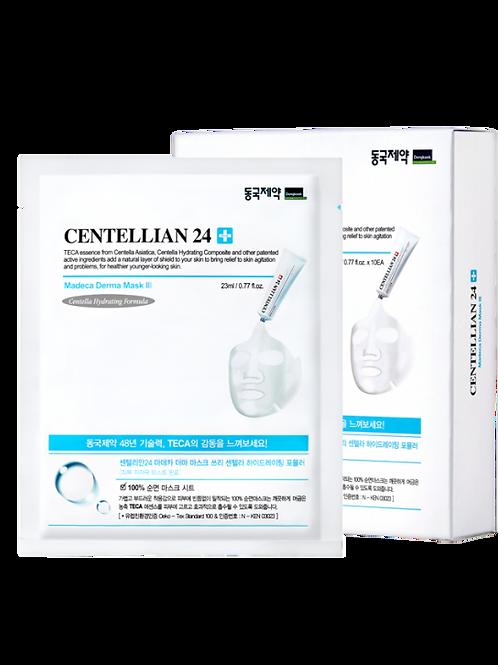 Centellian 24 Madeca Derma Mask III Centella Hydrating Formula 23 Ml 10 Adet