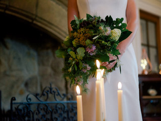 From 'airy, ethereal, woodland' to 'cosy, romantic and glamorous' in the space of a yellow weather w