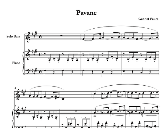 Gabriel Faure - Pavane