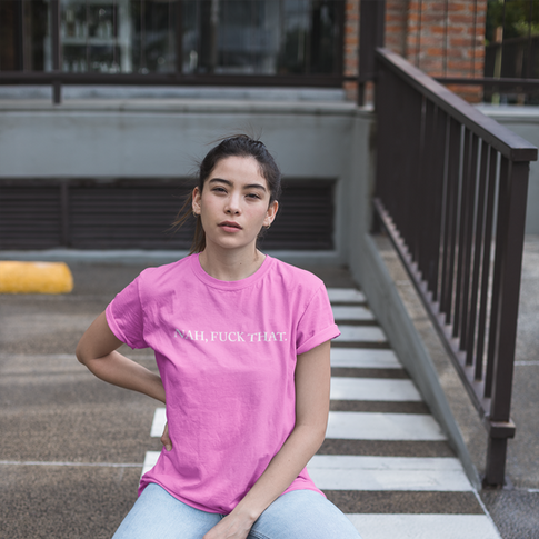 unisex-tee-mockup-of-a-woman-posing-in-a