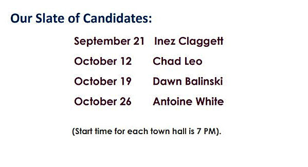 Closing the Gap BOE Town Hall Flyer page