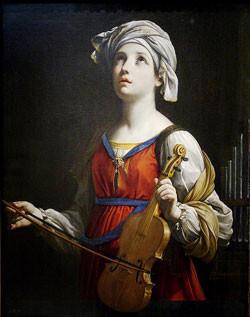 Saint Cecilia. St Ceciilia. Gibraltar Catholic Youth.