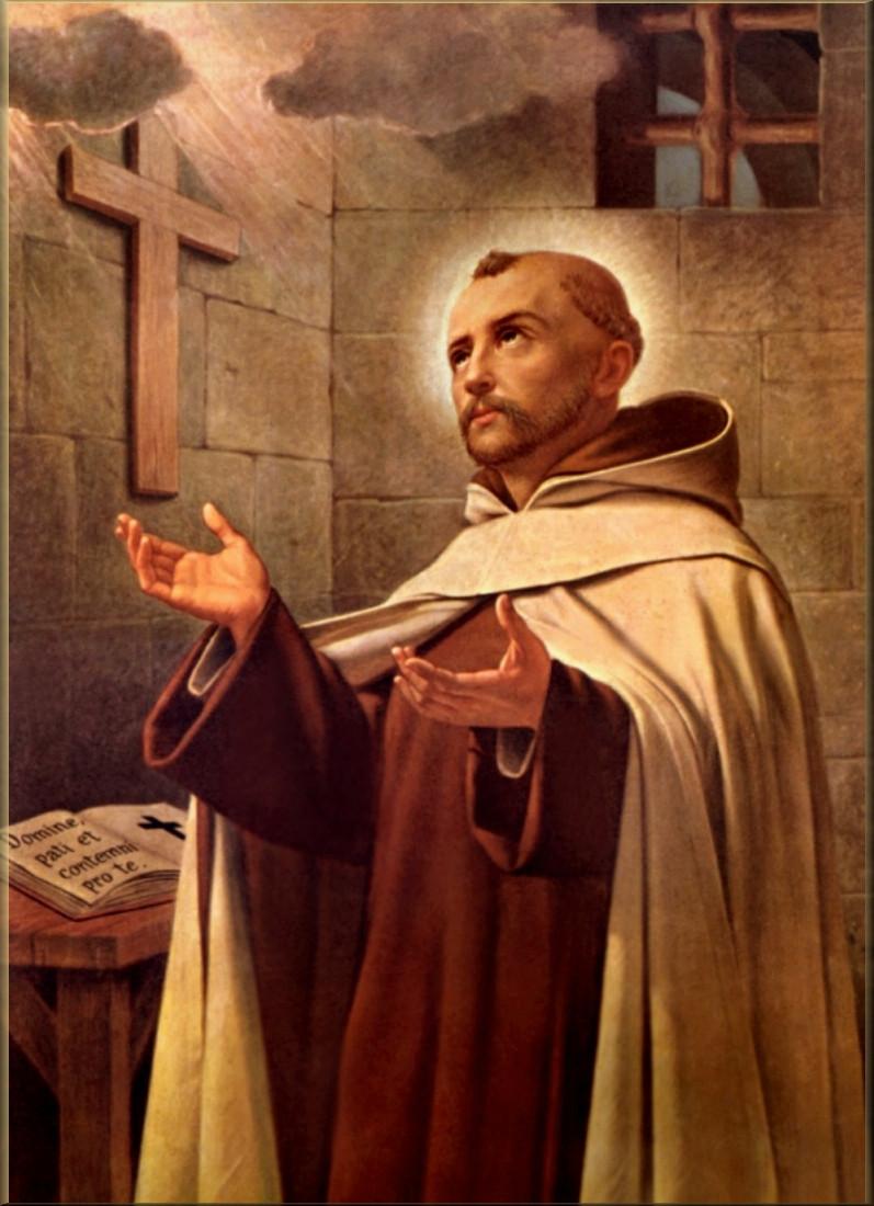 St John of the Cross. Saint John of the Cross. Gibraltar Catholic Youth.