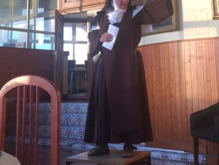 The Carmelite Nun on the Coffee Table
