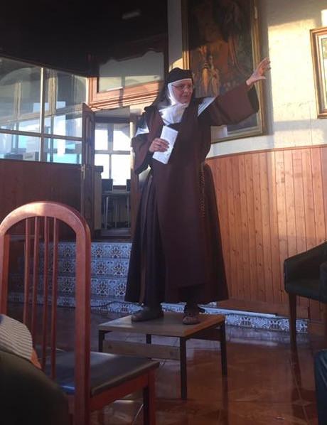 Sister Jennifer Gomila Discalced Carmelite Ronda. Gibraltar Catholic Youth.